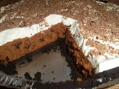Chocolate Silk Pie (The Perfect Chocolate Pie!) - The best pie I have had in my life!!