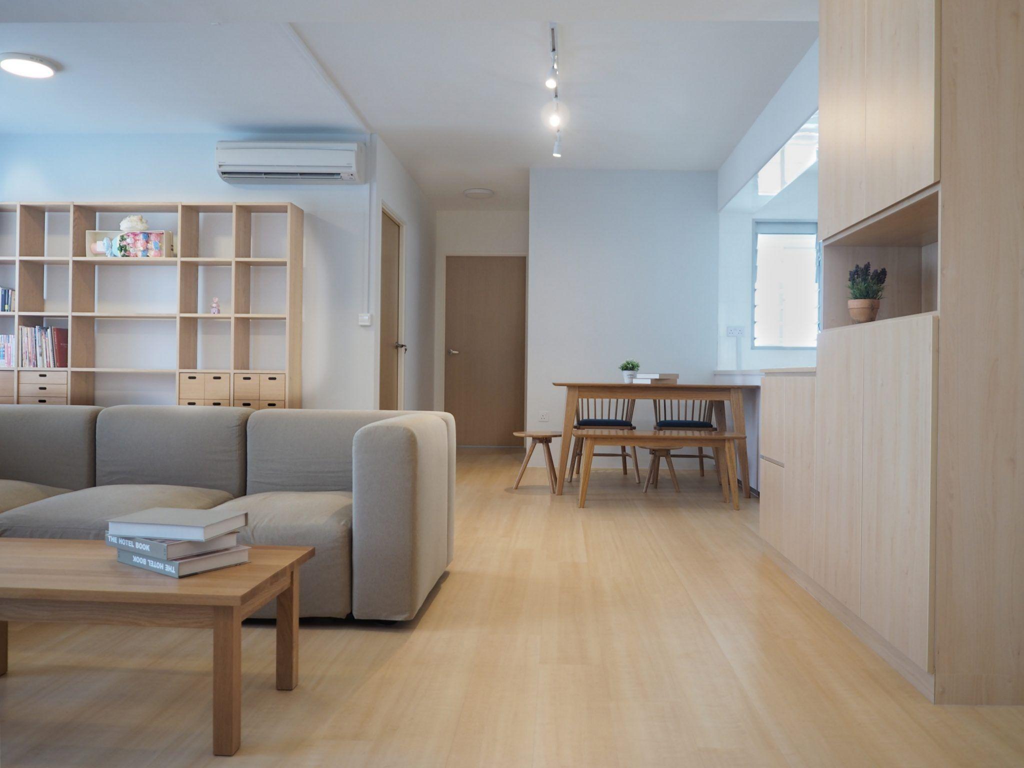 Japanese Living Room Singapore Minimalist Interiors In