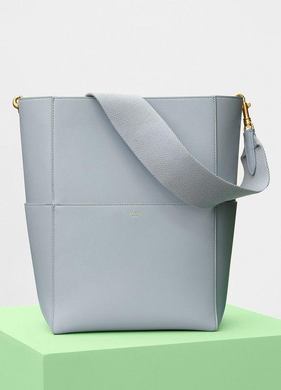 4797136427 Sangle Shoulder Bag in Shiny Smooth Calfskin - Céline