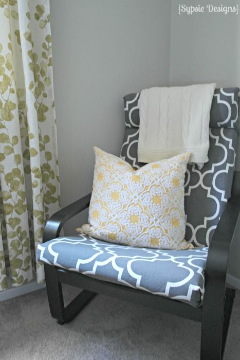 Ikea Poang Chair Diy Cover Tutorial Ikea Poang Chair Desk Chair