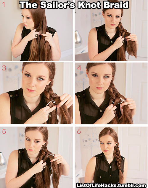 6 Tumblr Hair Tutorial Hair Styles Braided Hairstyles