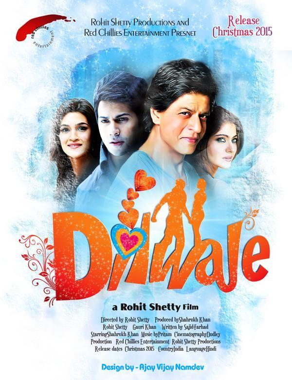 Dilwale 2015 Full Hindi Movie 300mb Hdrip 480p Worldfree4u