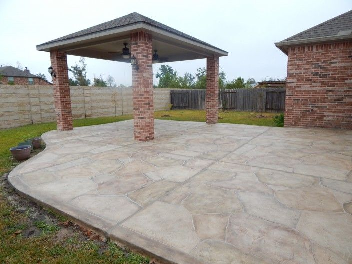 Allied Outdoor Solutions Has Many Carvestone Overlay Options For You Patio And Outdoor Solutions Patio Concrete Stain Patio
