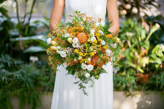 Blume Des Monats November Die Nadelkissen Protea Brautstrausse