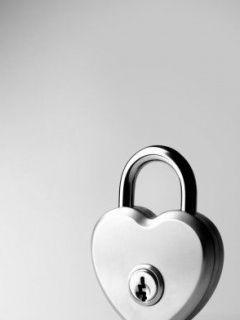 Love Lock #love #heart #locks