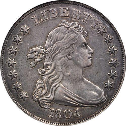 Class Iii 1804 Draped Bust Silver Dollar