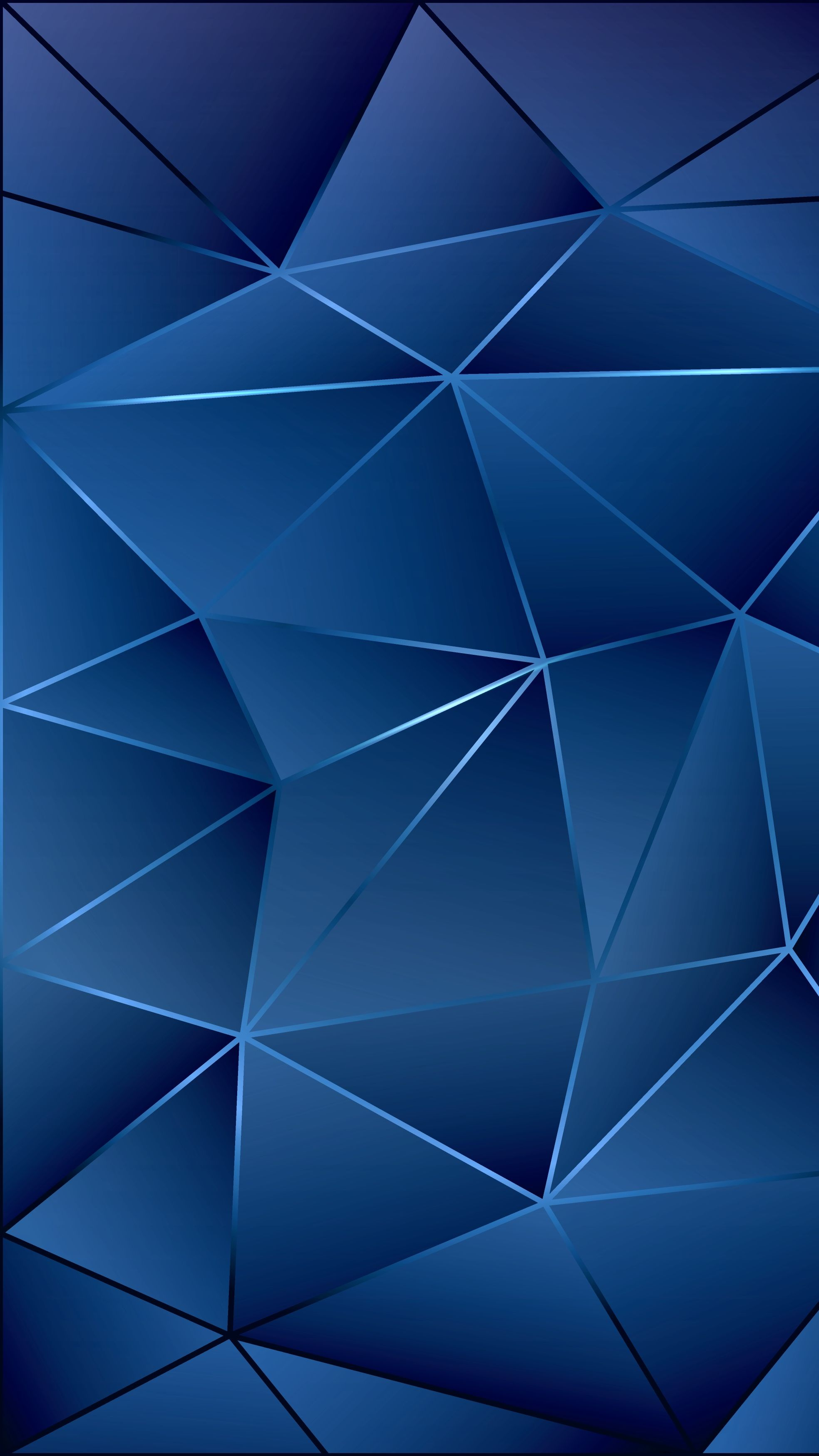 Blue Wall Geometric Pattern Abstract Texture Background