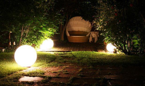 iluminacin para el jardn - Iluminacion Jardin