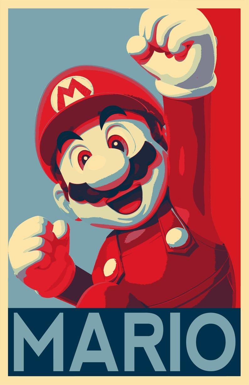 Mario Illustration Super Mario Bros Nintendo Video Game Arcade Japanese Pop Art Home Decor In Poster Print Or Canvas Walpaper Desenho Mario Bros Desenho Ideias De Gravura