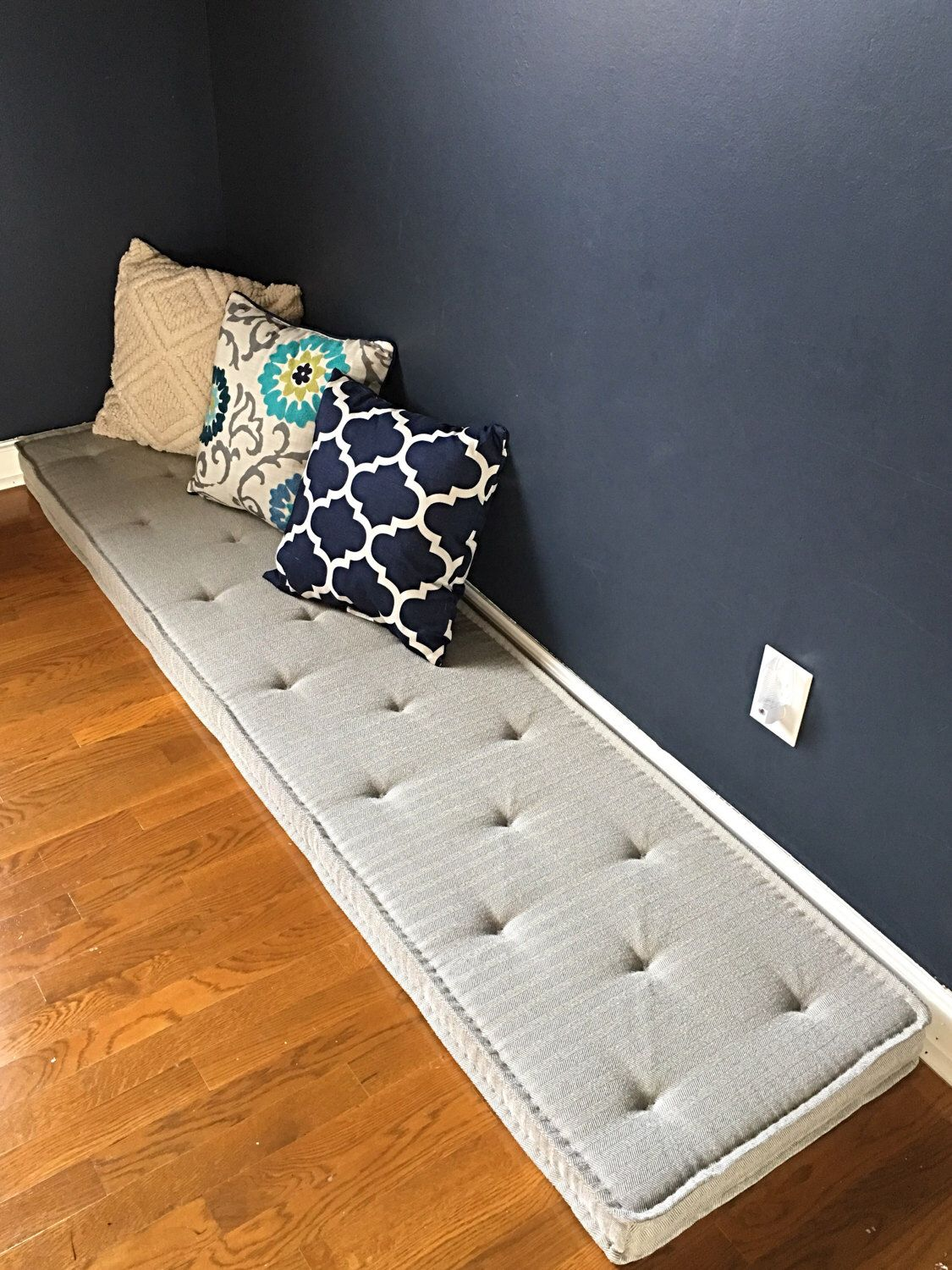 Banquette Bench Cushions on banquette sofas, spray adhesive foam cushions, banquette bench chairs, banquette bench diy, banquette plans, banquette bench kitchen, diy plywood foam cushions, banquette seating,