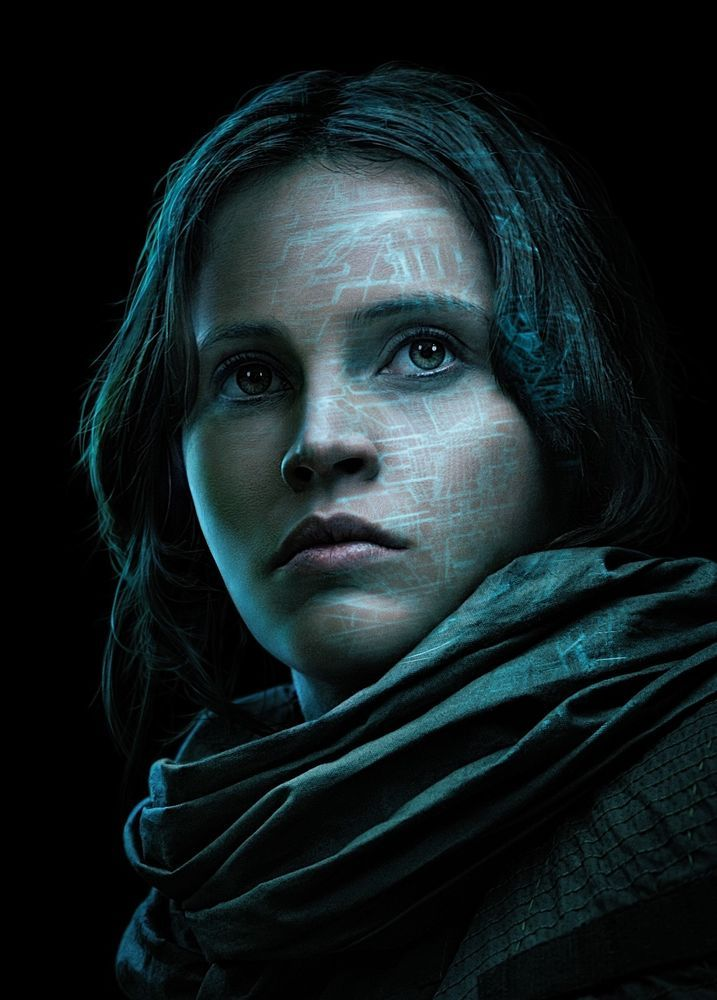Rogue One A Star wars Story Hi-Res Movie Poster Jyn Erso TX Character Poster