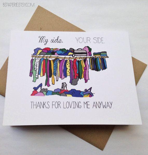 Cute Valentine Card Funny Love Card Husband Card Anniversary – Valentine Anniversary Cards