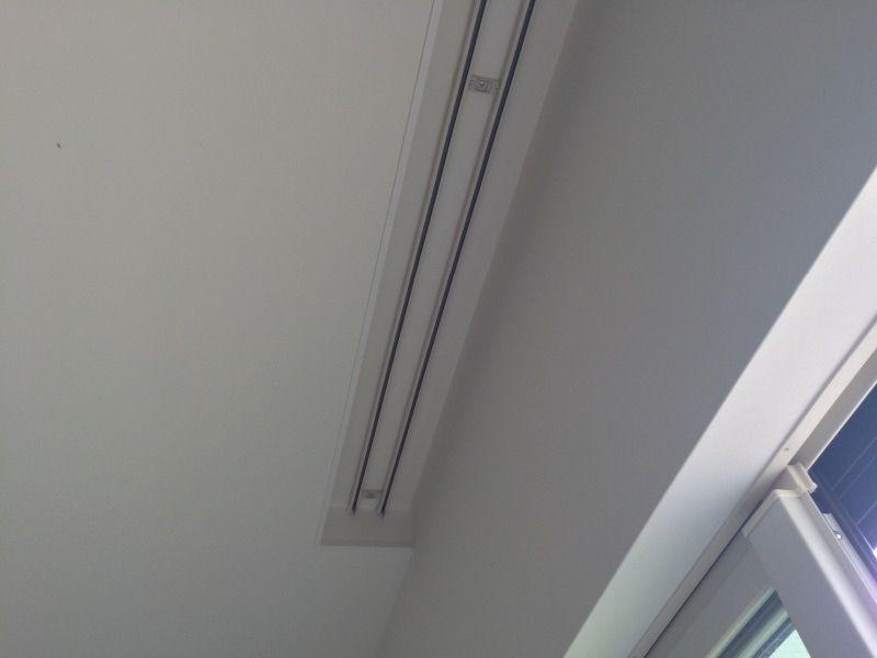 カーテンレール天井付け こだわり カーテンレール 天井付け