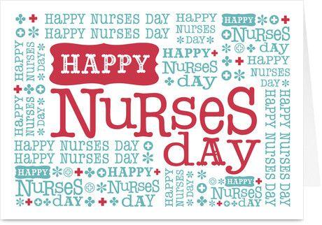 Happy nurses day pinterest appreciation and cards nurse appreciation printable nurses day words nurses day greeting card m4hsunfo