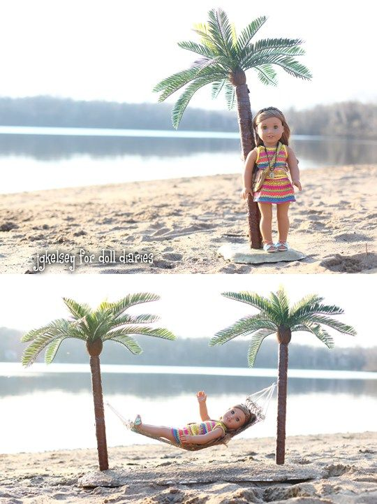 Doll Craft – How to Make a Palm Tree for Lea   For the Kids ...