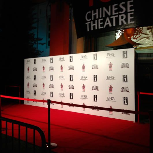 Step And Repeat Backdrop Rental For Los Angeles Las Vegas