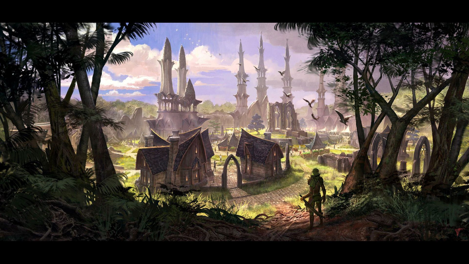 The Elder Scrolls Online Valenwood Hd Wallpapers Wallpaper