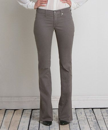 Look what I found on #zulily! Steel Micro Flare Jeans by Henry & Belle #zulilyfinds