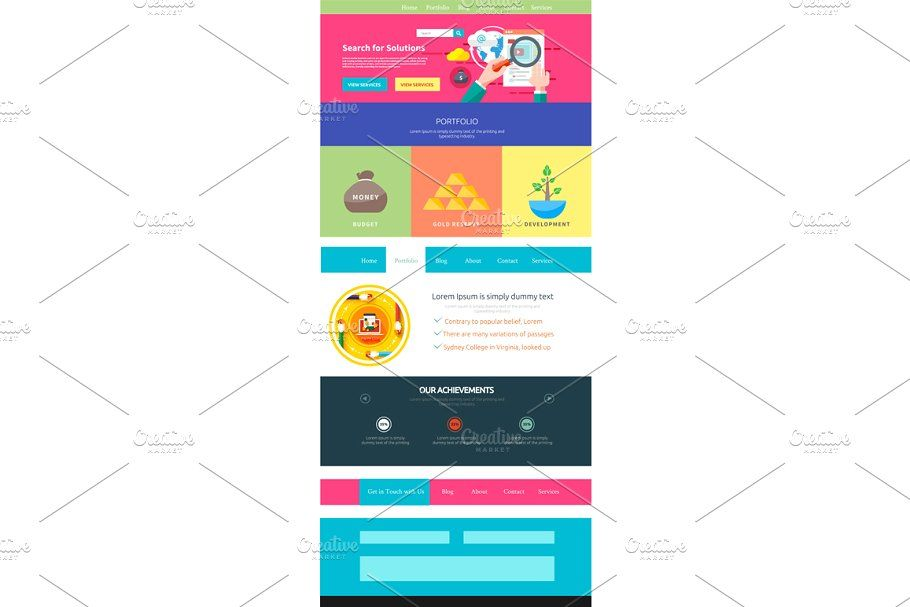 Web Site Design Navigation Elements In 2020 With Images Website Design Infographic Design Site Design