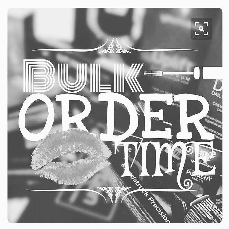 Bulk Order Ready! Anybody Else Need Anything? Still have time ! You've got about an hour before its submitted! Contact me! Sazzy1963@gmail.com or DM me  #bulkorder #whatyouneed #contactme #closingsoon #dm #emailme