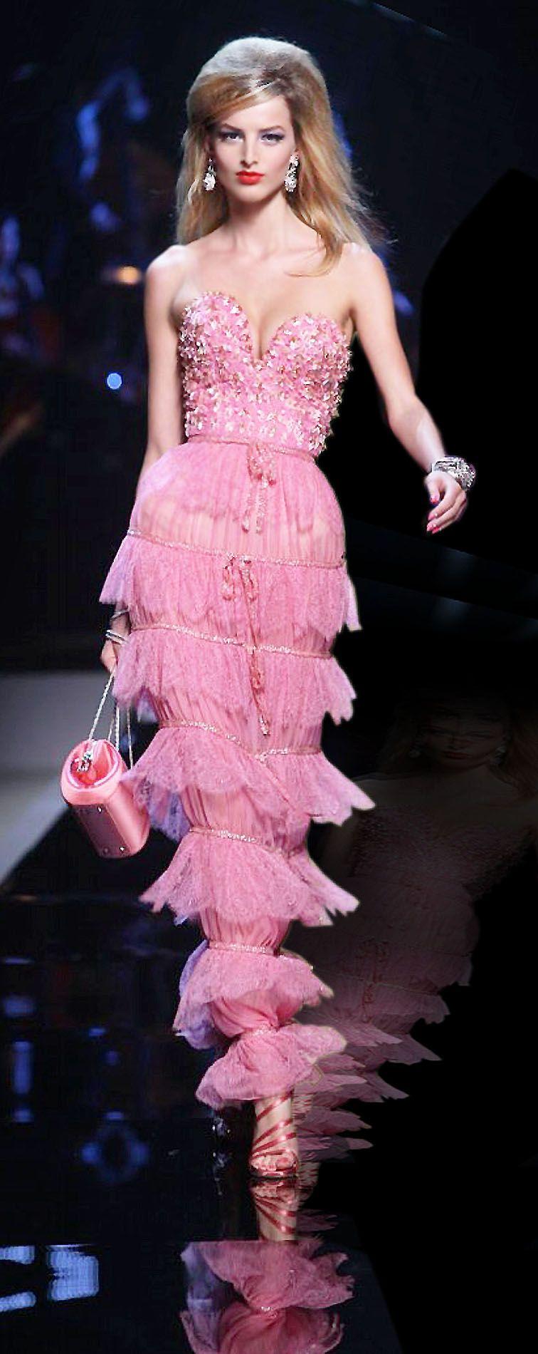 Christian Dior | vestidos | Pinterest | Rosas, Vestiditos y Alta costura