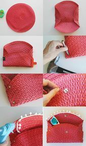 Trash #To #Couture: #DIY #Wicker #Purse #From #Placemat,  #Handtasche,  #Couture #DIY #Handtasche #Placemat #purse #Trash #wicker,  #DiyAbschnitt, Diy Abschnitt,