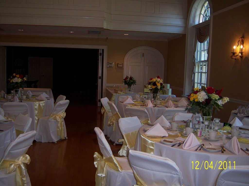 80 Canary Yellow Chair Sashes 10 Table Runners Resale Wedding 80 Canary  Yellow Chair Sashes 10