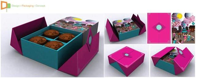 mooncake box design - Google Search