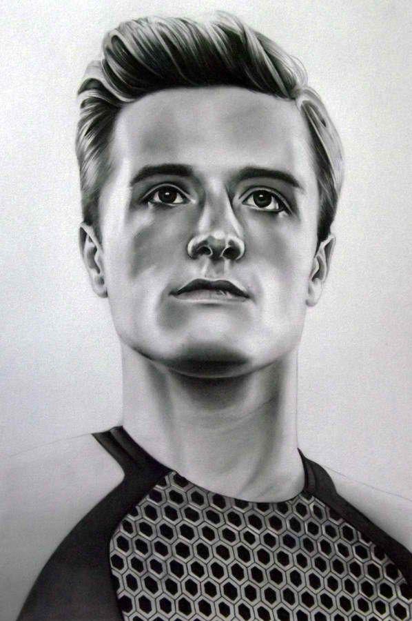 Hunger Games Peeta Drawing drawing of peet...