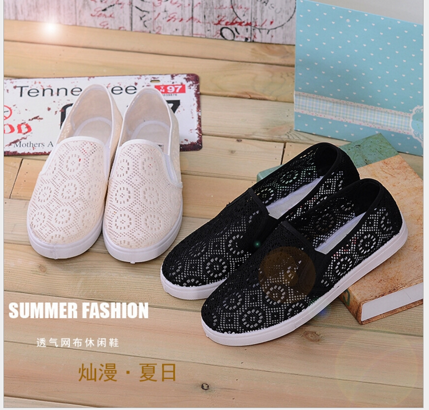 12.90$  Watch here - Factory Discount High Quality Shoes ! Fashion Casual Canvas Flat Shoes for Women Sweet Bow Shoes Leisure Flats   #SHOPPING