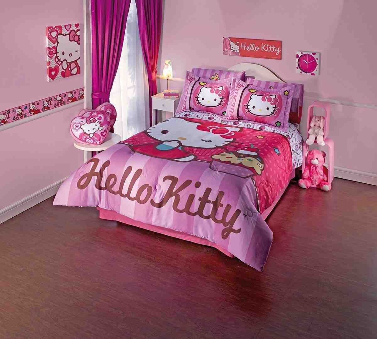 Hello Kitty Twin Comforter Set Hello Kitty Bedroom Hello Kitty