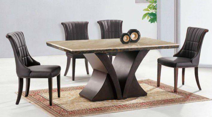 Mesa base de madera buscar con google mesas - Mesas de marmol y cristal ...