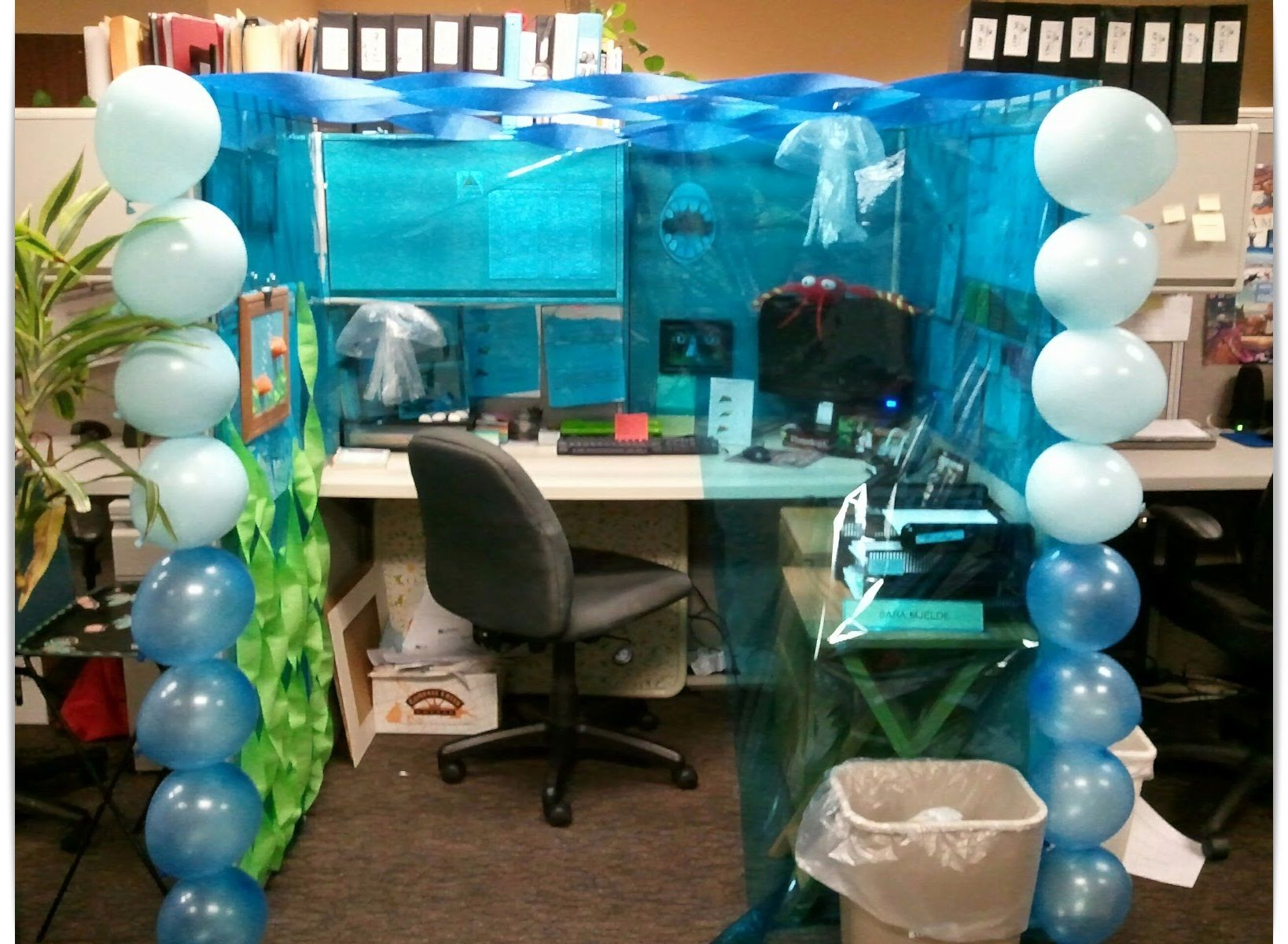 halloween decorating ideas for office cubicle