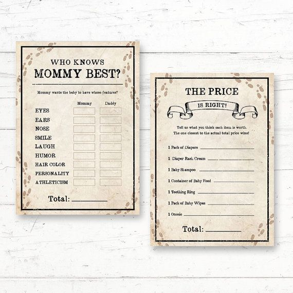 Marvelous Harry Potter Baby Shower Games Package   6 Games Printable Baby Shower Game  Package!