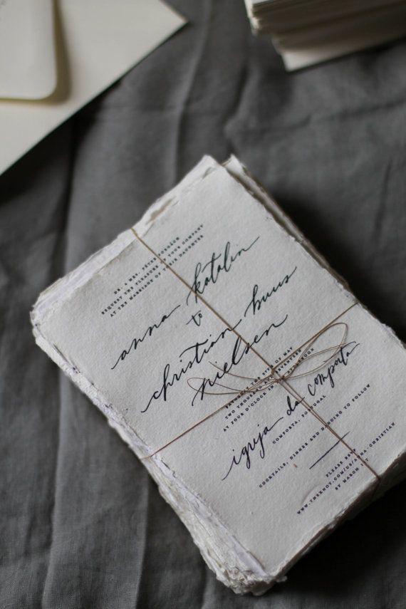 handwrite or print wedding invitation envelopes%0A Black and White Wedding Invitation  Classic Wedding  Simple Wedding  Rustic  Wedding  Handwritten