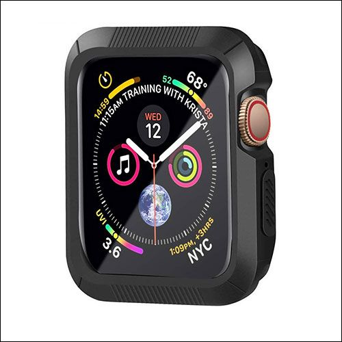 classic fit db725 03f6d Best Apple Watch Series 4 Cases : Protective Covers for 40 and 44mm ...