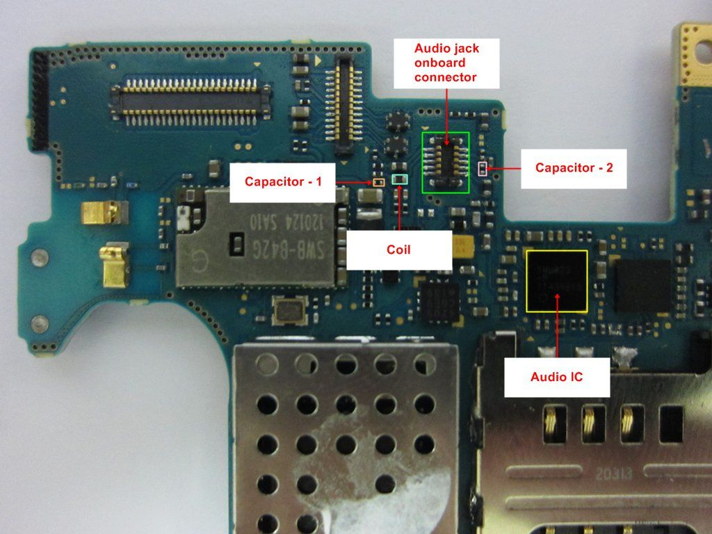 How To Solve Samsung Galaxy Note 1 Audio Jack Problem S3 Headphone Diagram On Iphone 4 Wiring