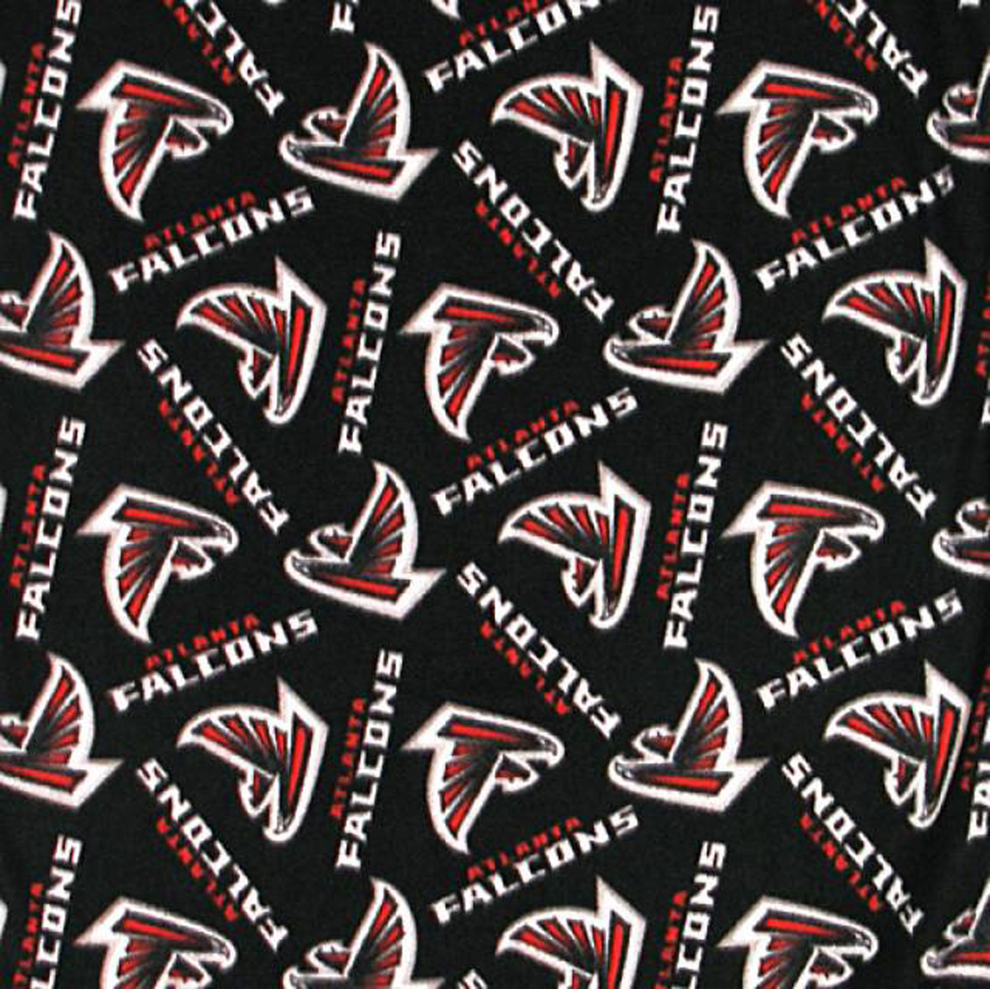 Atlanta Falcons Fleece Fabric Nfl Football Team Fleece Fabric In 2020 Fleece Fabric Football Fabric Sewing Fleece
