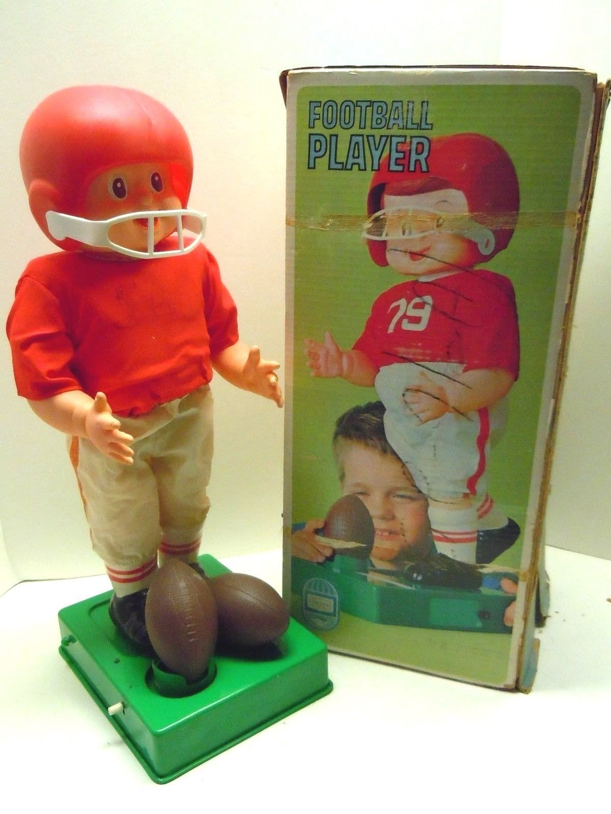 Bandai Football Player 60s ebay