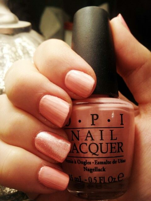 OPI Italian Love Affair + FOREVER21 glitter pink | Style & Fashion ...