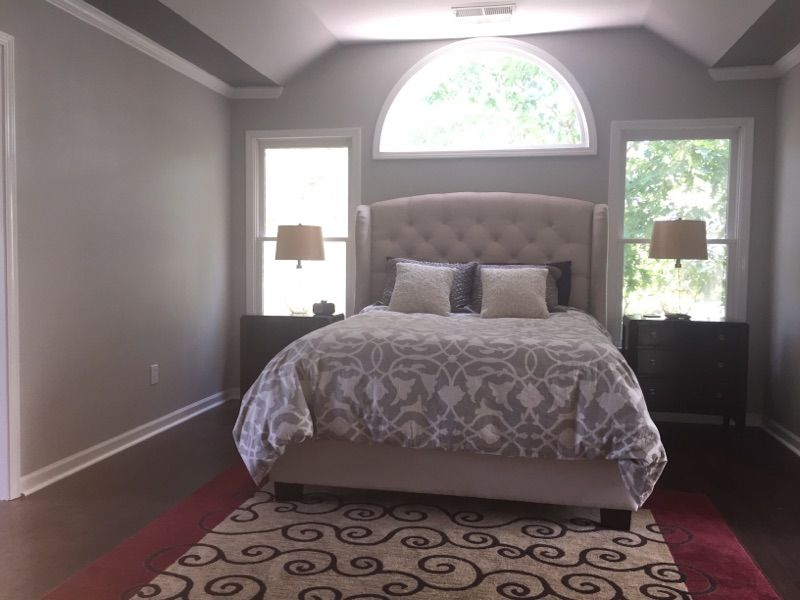 Master Bedroom Sherwin Williams Light French Gray Sw 0055 Walls