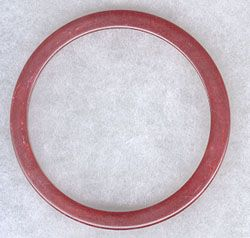 Maroon Bakelite Bangle...$22.00