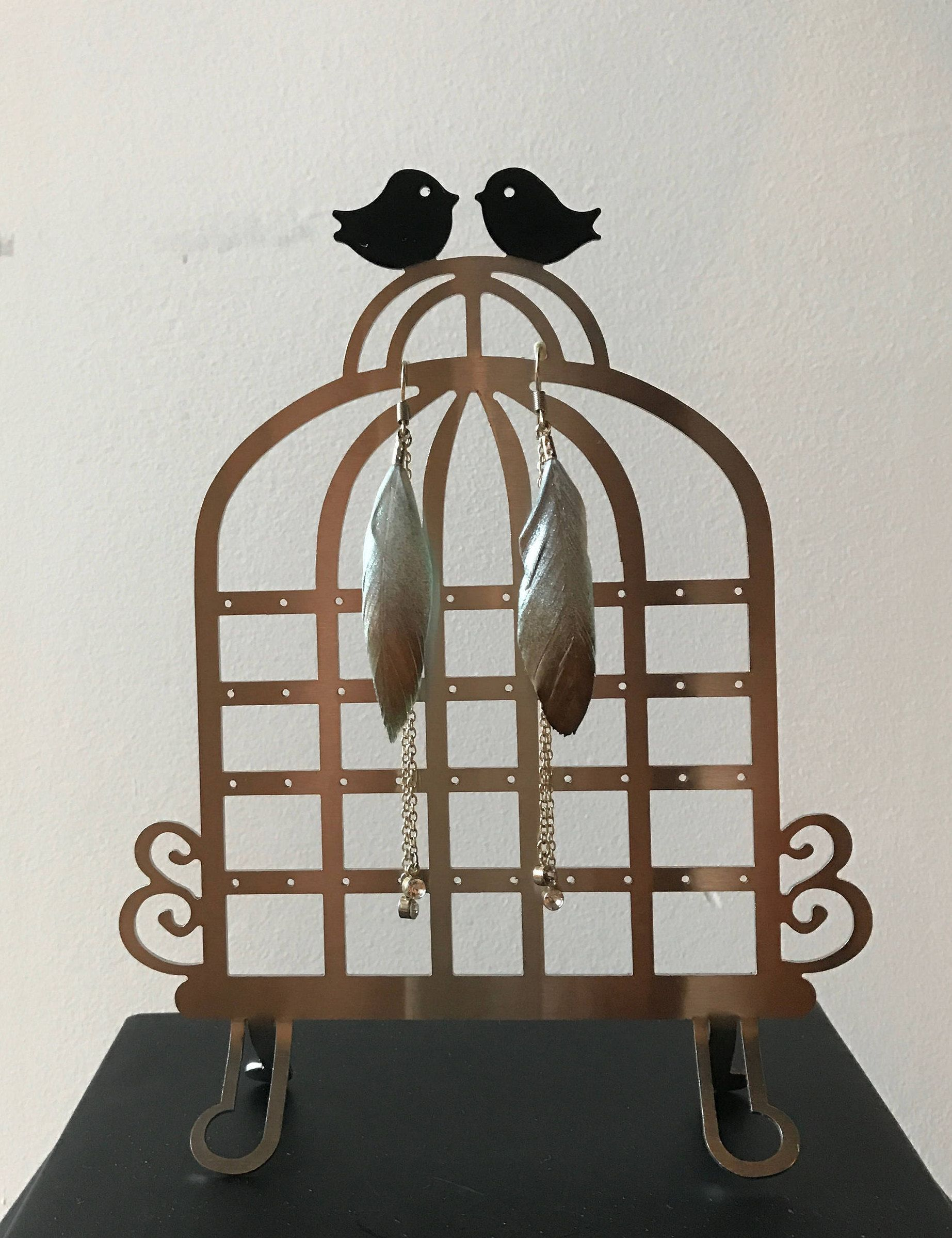 Steel Earring Holder
