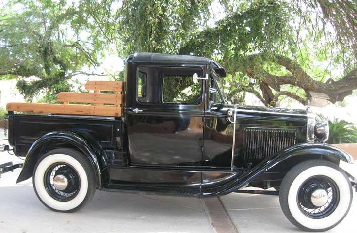 Model A Ford Truck With Images Old Trucks Classic Cars Trucks