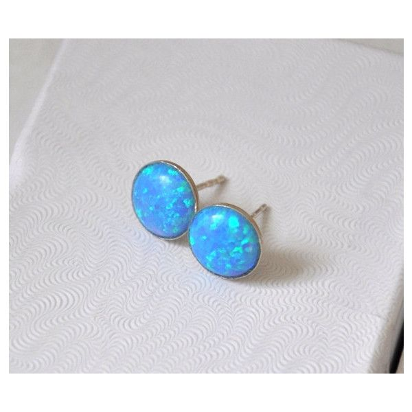 59 Bgn Liked On Polyvore Featuring Jewelry Earrings Etsy Jewelrybyirina Sterling Silver Jewellery Opal