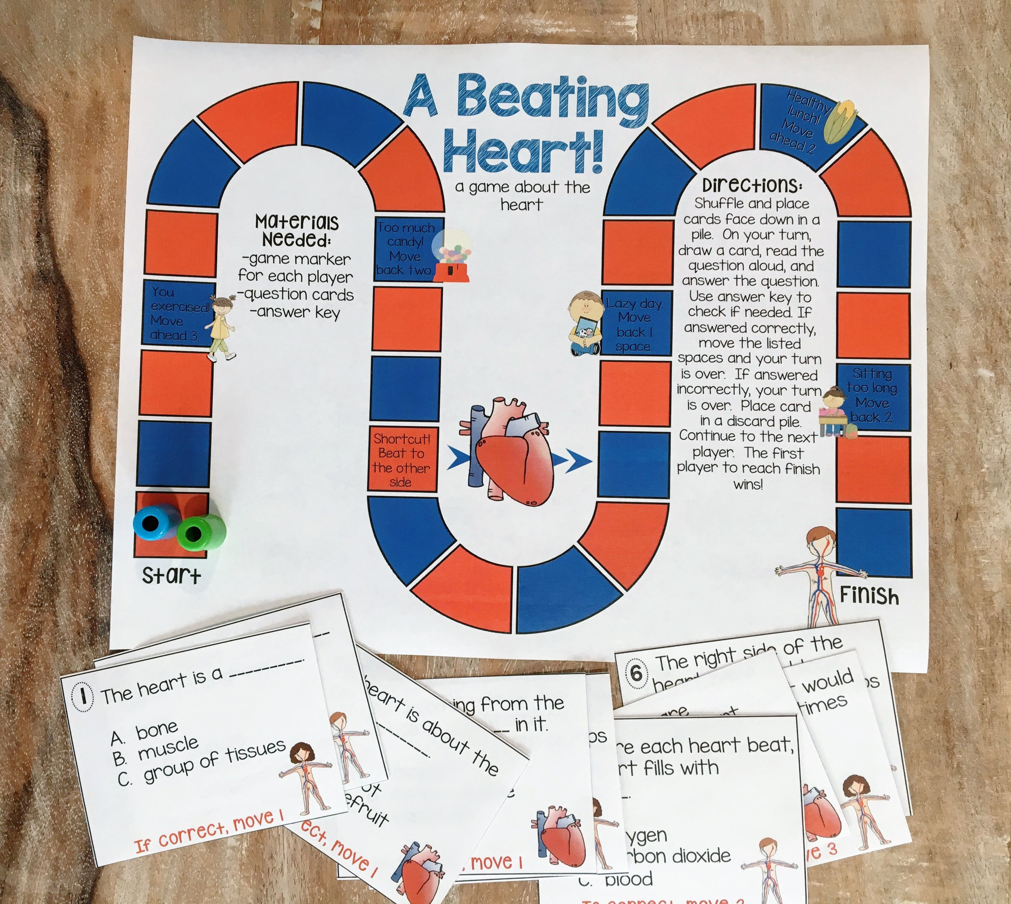 This Circulatory System Unit Includes Lots Of Great Resources To Help You Teach The Circulatory System You Will F Circulatory System Fun Printables Activities