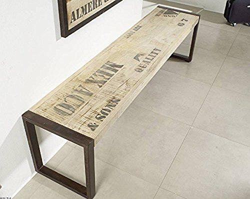 Muebles macizos impreso sólido completo estilo Industrial Banco ...