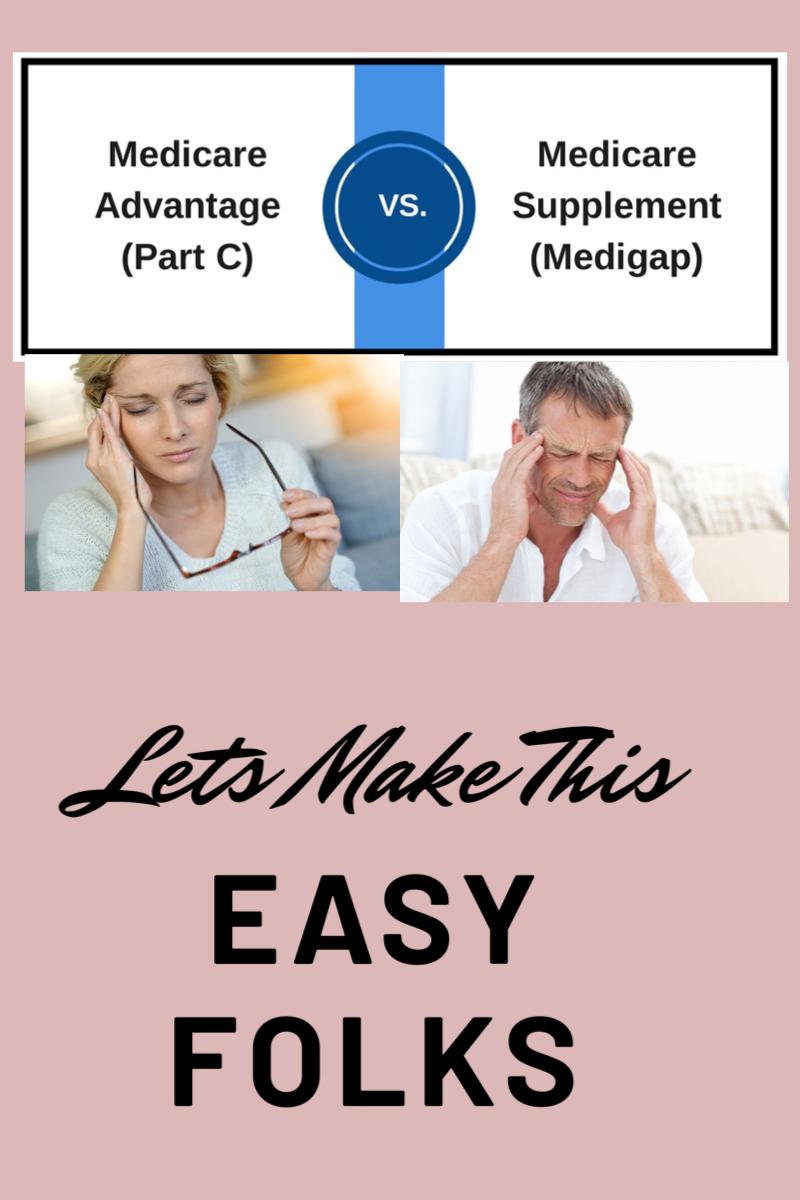 Medicare Advantage Plan Vs Medigap Plan Medigap Plan Costs In