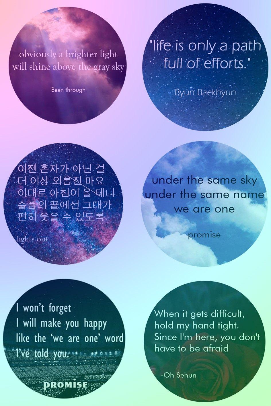 exo quotes sehun baekhyun promise baekhyun promise quotes exo