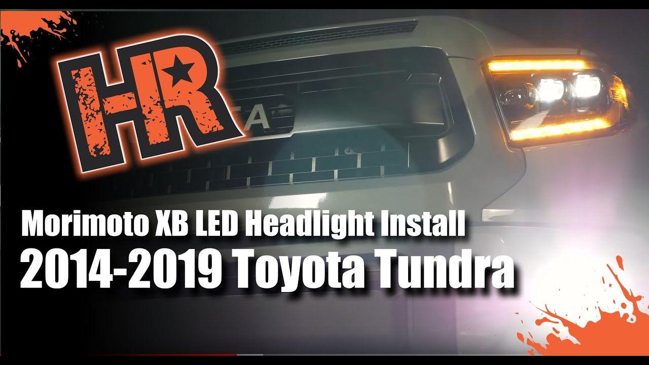 20142019 Toyota Tundra Morimoto XB LED Install